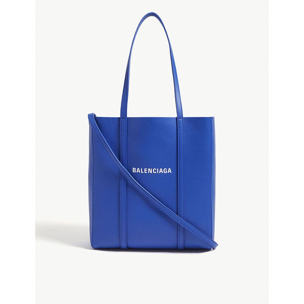 バレンシアガ balenciaga レディース バッグ トートバッグ【everday leather mini tote】Blue
