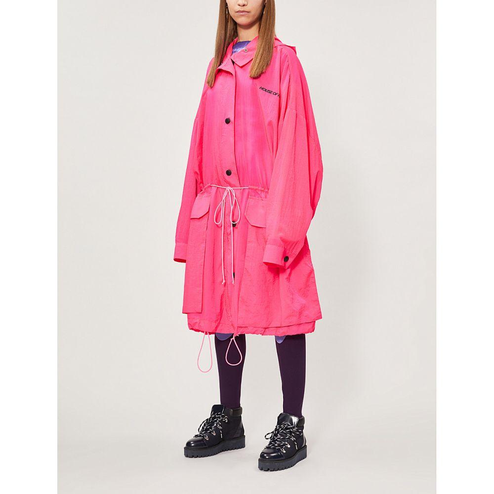 ハウス オブ ホーランド house of holland レディース アウター レインコート【oversized shell raincoat】Fuchsia
