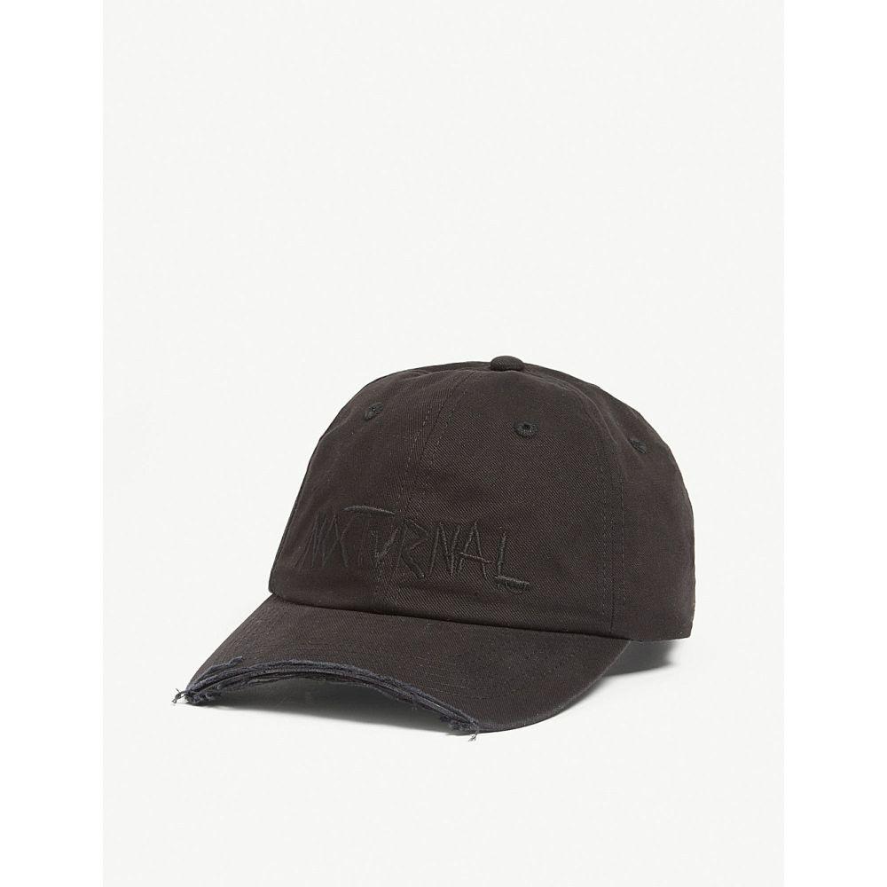 ハーキュラ haculla メンズ 帽子 キャップ【nocturnal cap】Black
