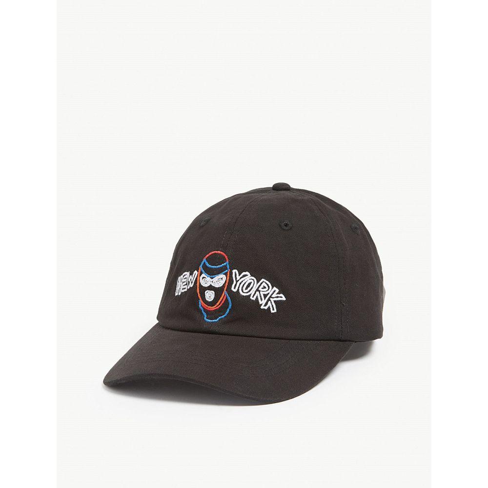 ハーキュラ haculla メンズ 帽子 キャップ【new york robber cap】Black
