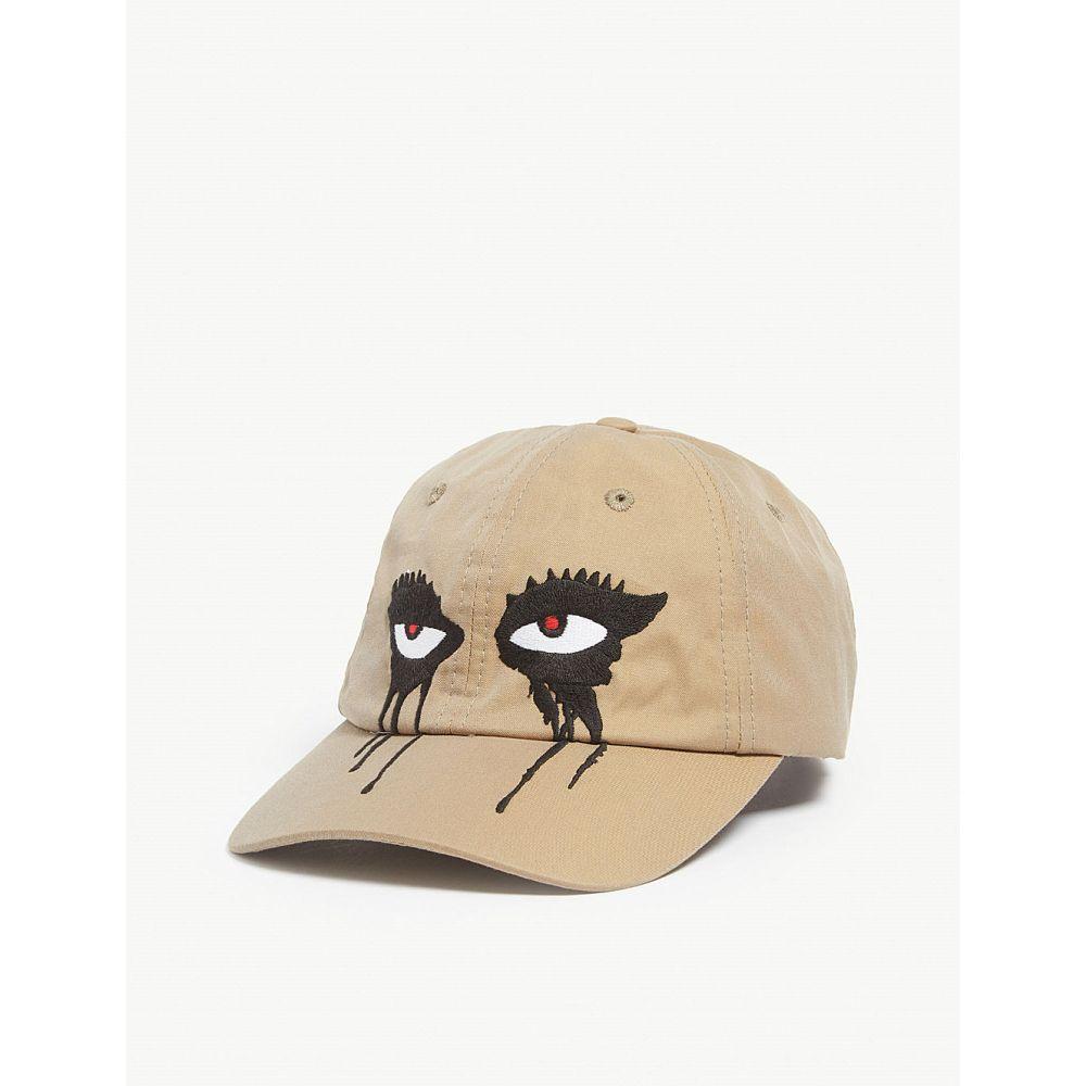 ハーキュラ haculla メンズ 帽子 キャップ【moody eyes baseball cap】Khaki/olive