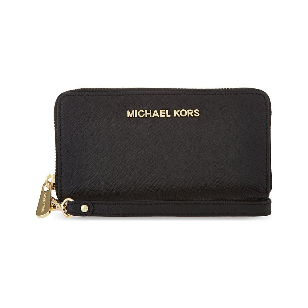 マイケル コース michael michael kors レディース スマホケース【jet set multi-function phone case】Black