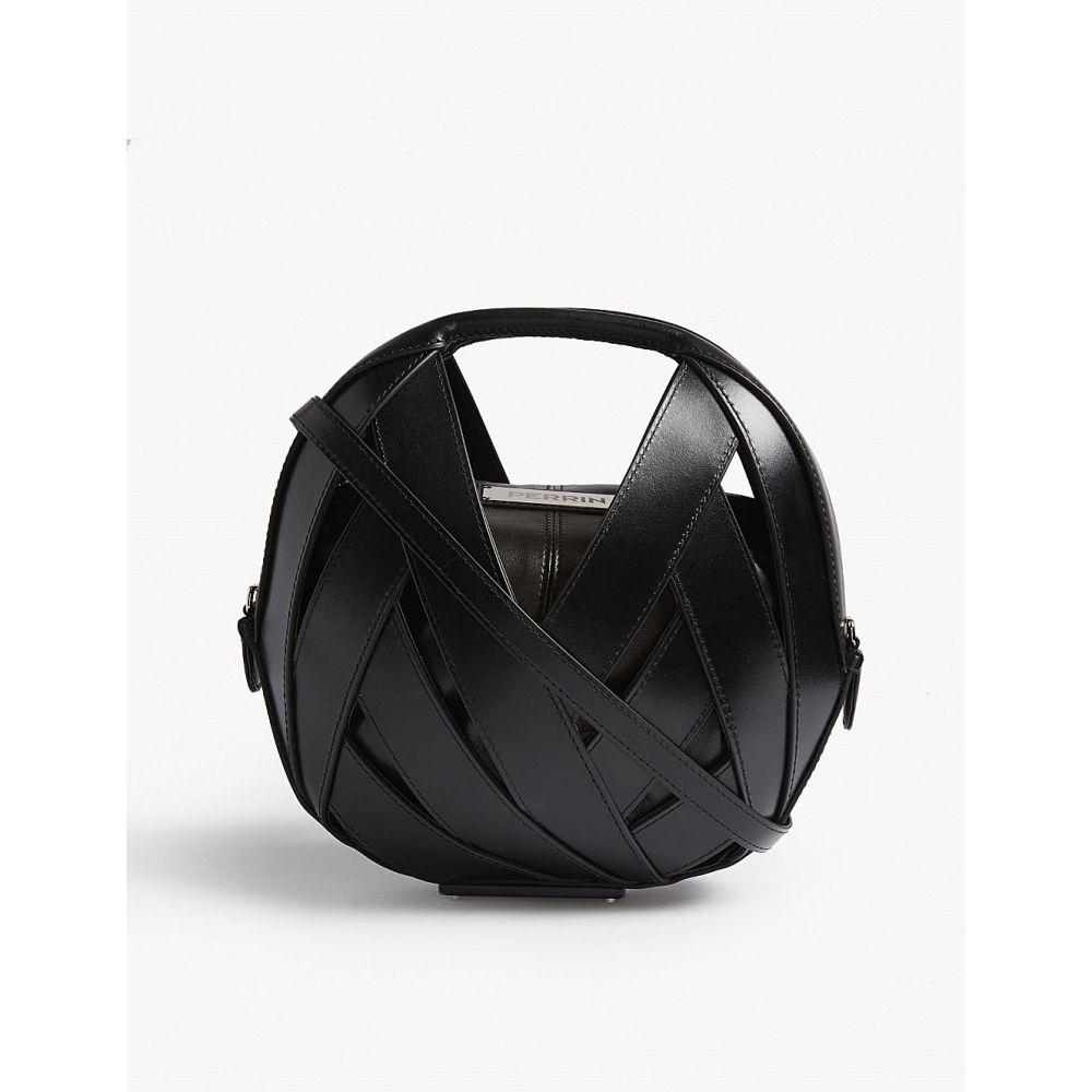 ペラン パリ perrin paris レディース バッグ ハンドバッグ【le petit panier handbag】Black black