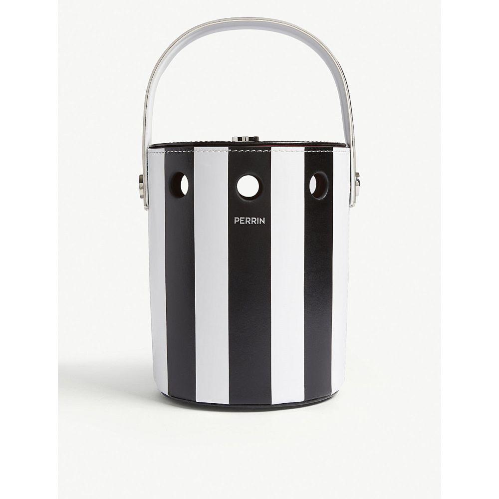 ペラン パリ seau perrin paris レディース バッグ ハンドバッグ stripe【mini seau bucket leather bucket bag】Black white stripe, 店舗用品のカワマタ:6d0a1d7c --- sunward.msk.ru