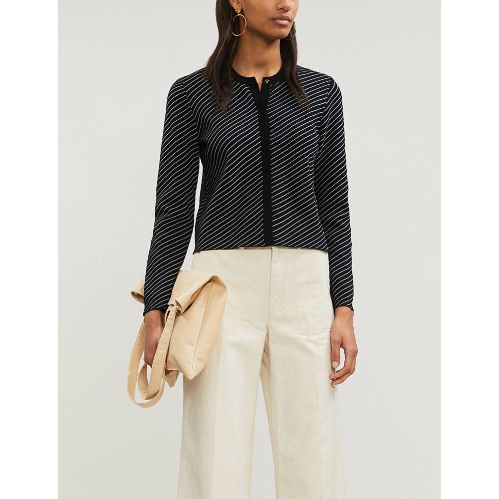 マージュ maje レディース トップス カーディガン【malicia buttoned-down knitted cardigan】Stripe