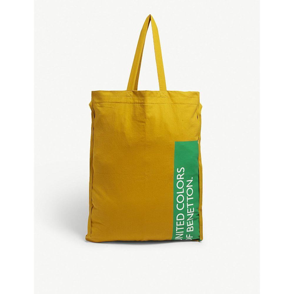 ベネトン benetton レディース バッグ トートバッグ【large canvas tote bag】Yellow
