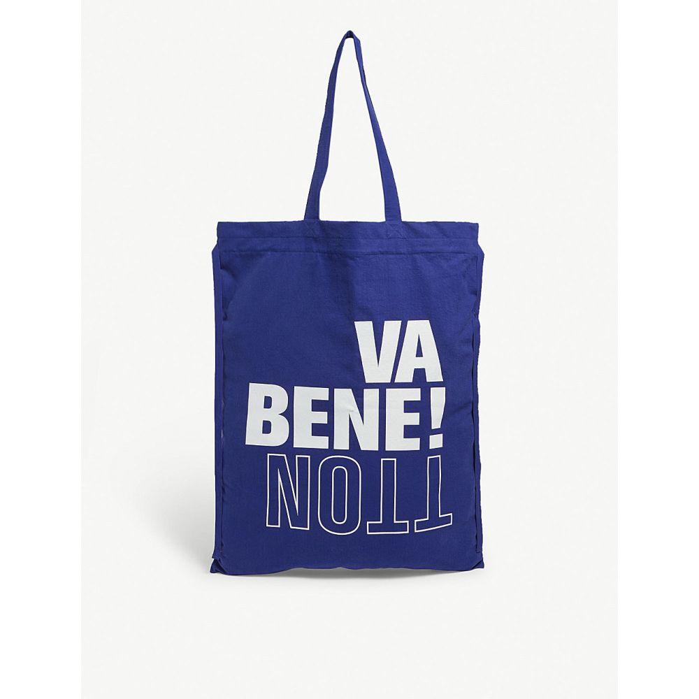 ベネトン benetton レディース バッグ トートバッグ【large canvas tote bag】Royal