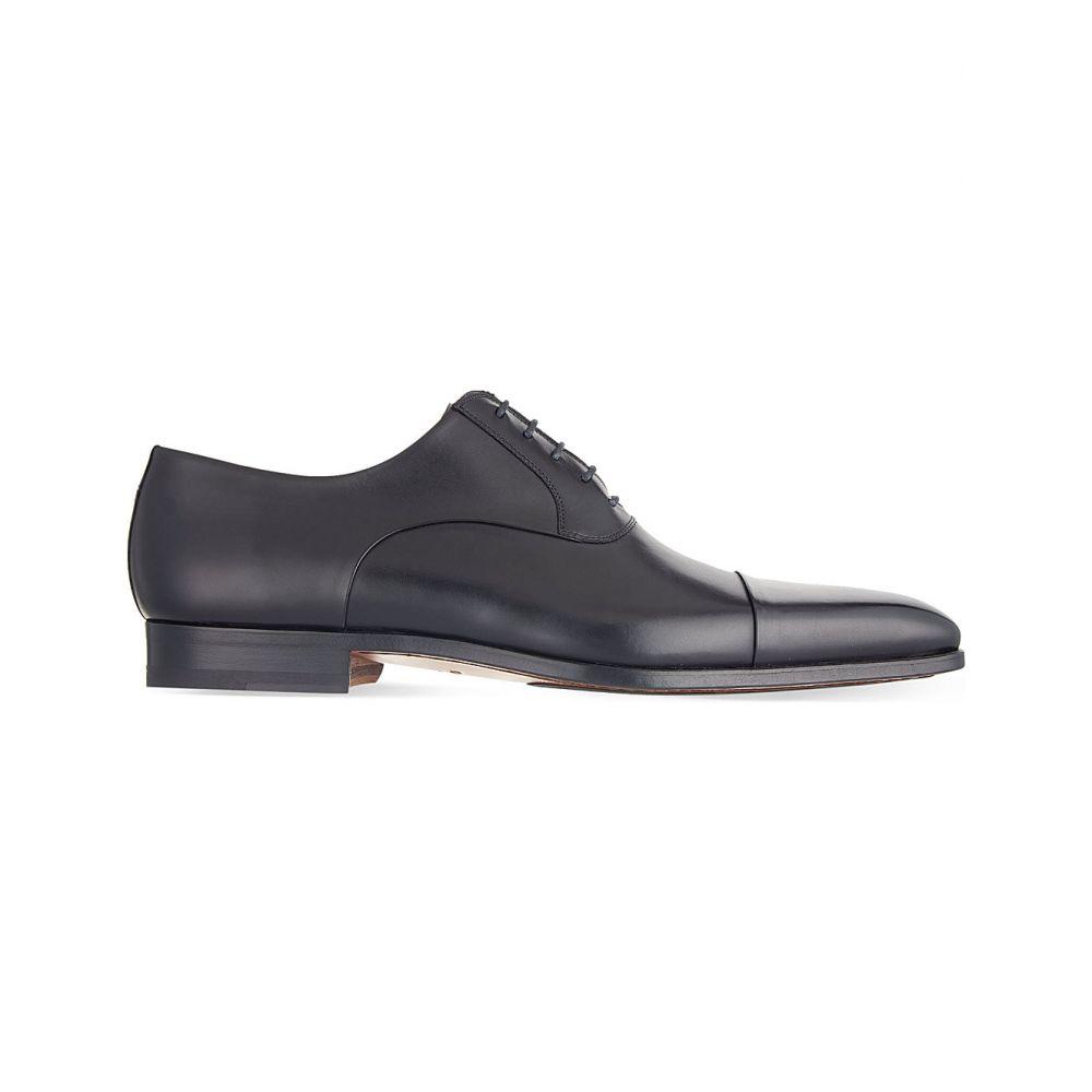マグナーニ magnanni メンズ シューズ・靴 革靴・ビジネスシューズ【toecap oxford shoes】Black