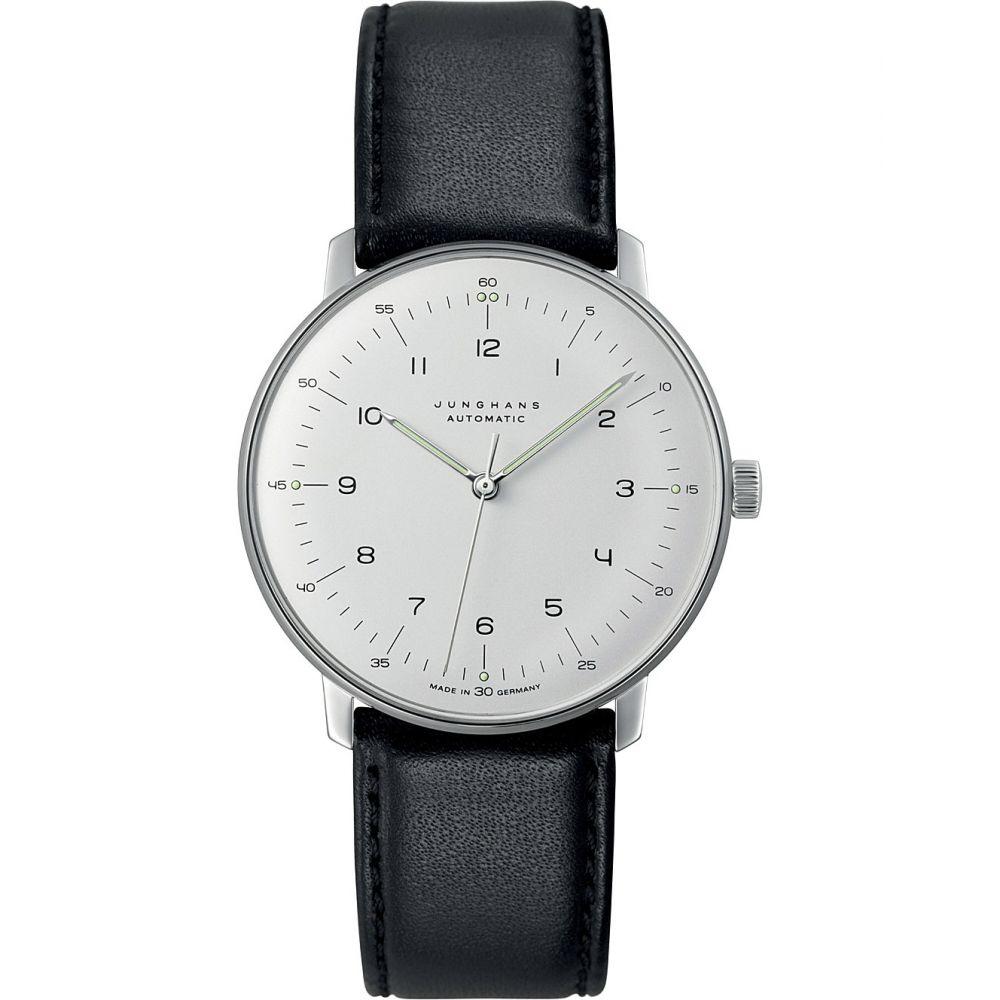 ユンハンス junghans メンズ 腕時計【027/3500.00 max bill stainless steel watch】Silver