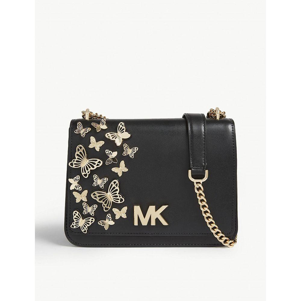 マイケル コース michael michael kors レディース バッグ ショルダーバッグ【mott butterfly leather cross-body bag】Black