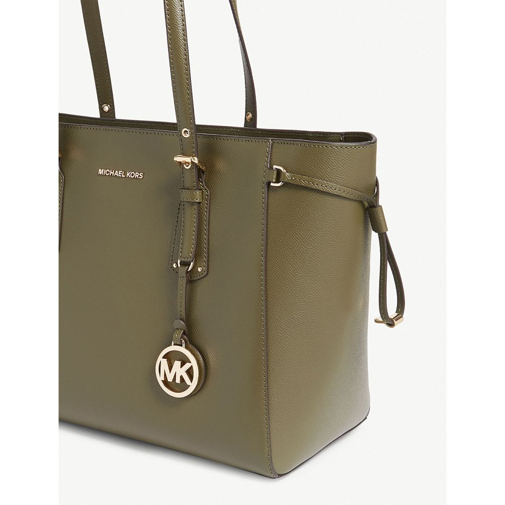 9f88c3360e2d マイケル コース michael michael kors レディース レディース レディース バッグ トートバッグ【voyager leather  tote】Olive 17c