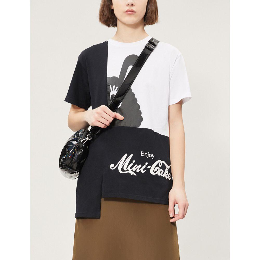 ミニクリーム mini cream レディース トップス Tシャツ【graphic logo-print cotton-jersey t-shirt】Multi