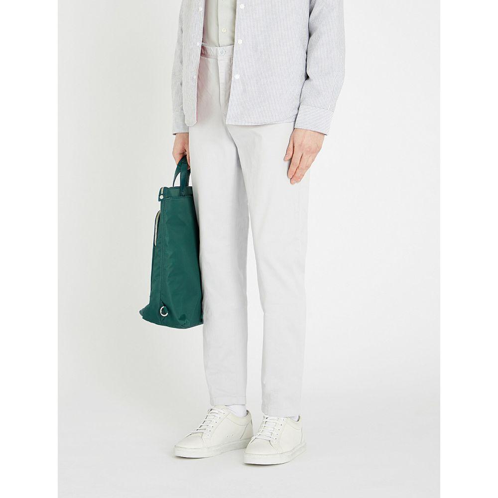 リース reiss メンズ ボトムス・パンツ チノパン【fielder slim-fit stretch-cotton straight-leg chinos】Frost