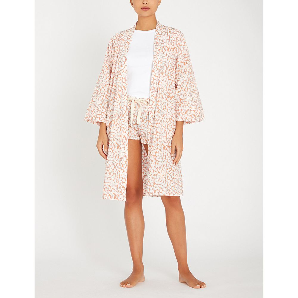 パジャマ・ボトムのみ レディース インナー・下着 Shell ラブストーリーズ love stories 【leopard-print cotton pyjama shorts】