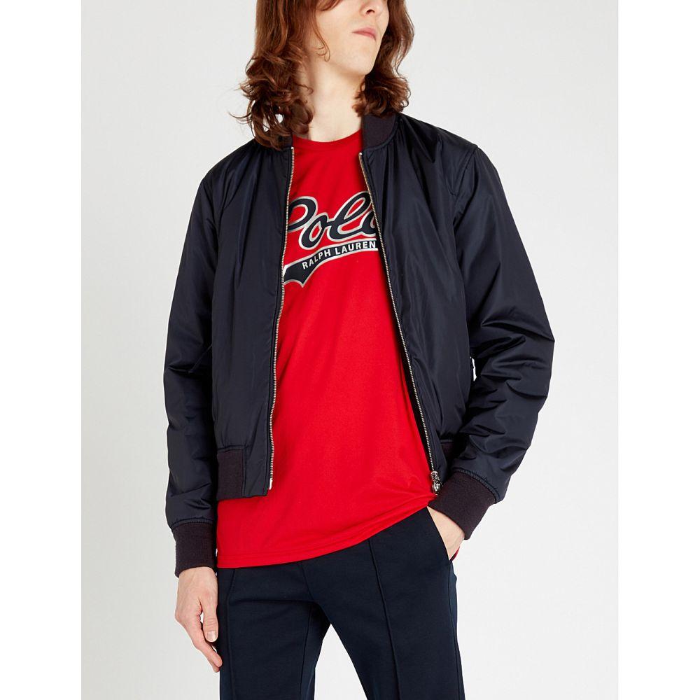 ラルフ ローレン polo ralph lauren メンズ トップス Tシャツ【logo-print stretch-jersey t-shirt】Rl 2000 red