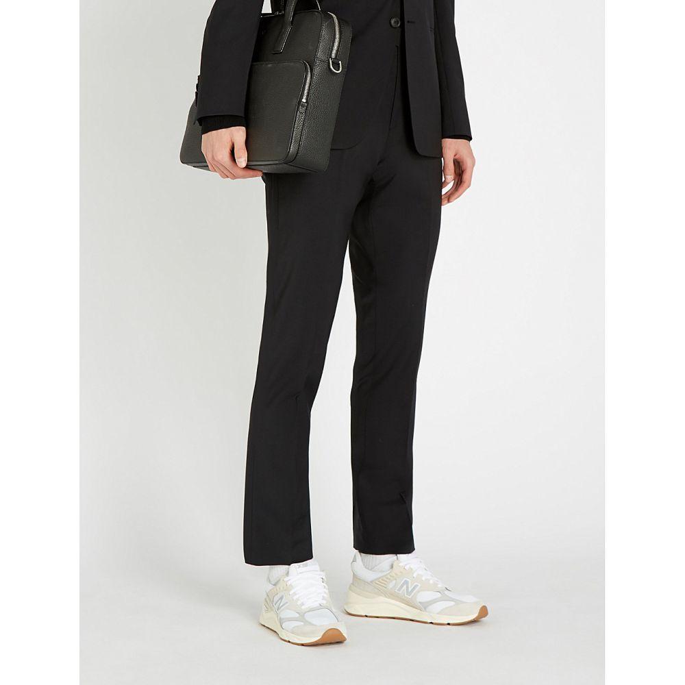 リース reiss メンズ ボトムス・パンツ スラックス【hope slim-fit tapered wool-blend trousers】Black