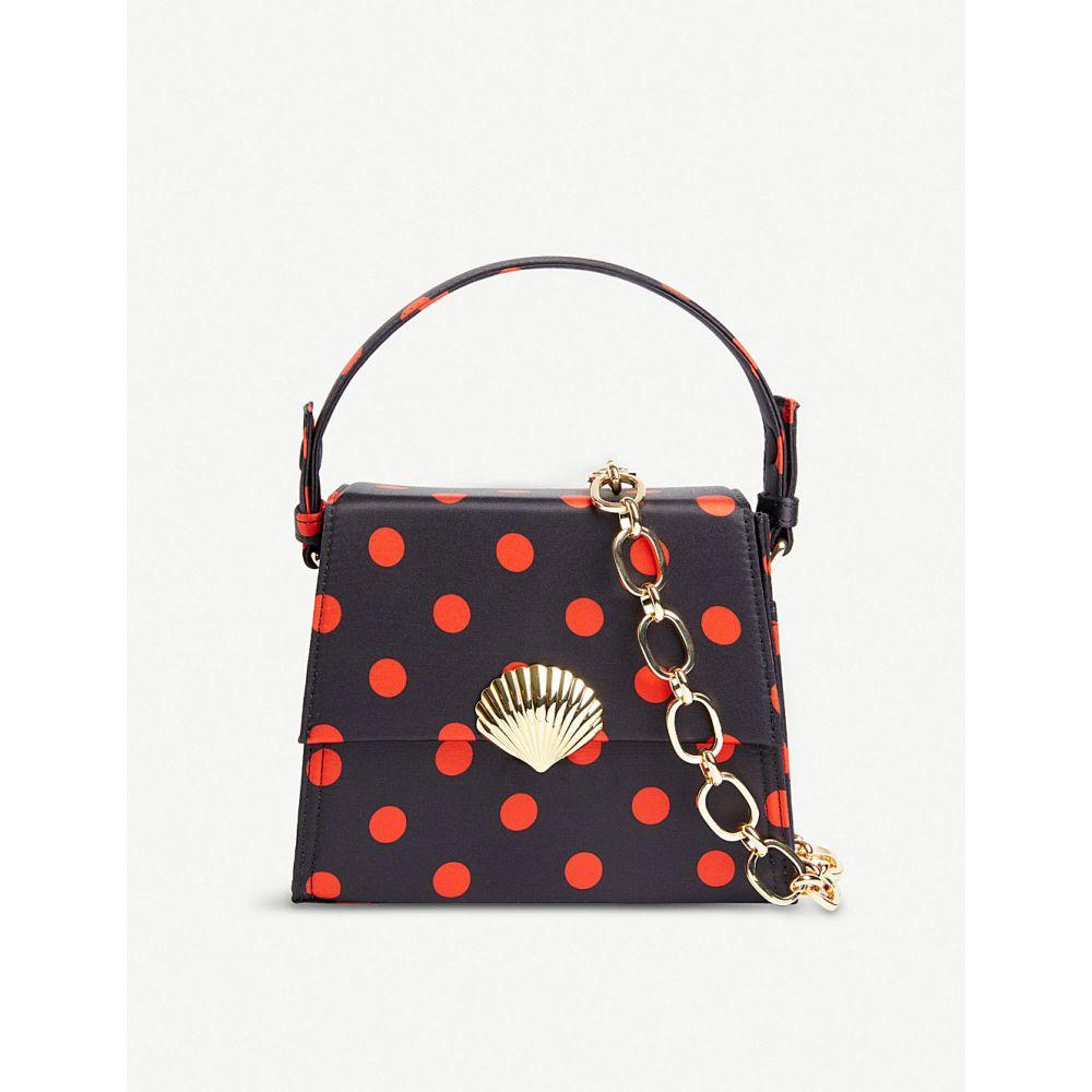 リキソ rixo レディース バッグ バッグ ハンドバッグ polka-dot【jemima polka-dot satin レディース top handle bag】Red, ハエバルチョウ:6d68d859 --- kanda.ayz.pl