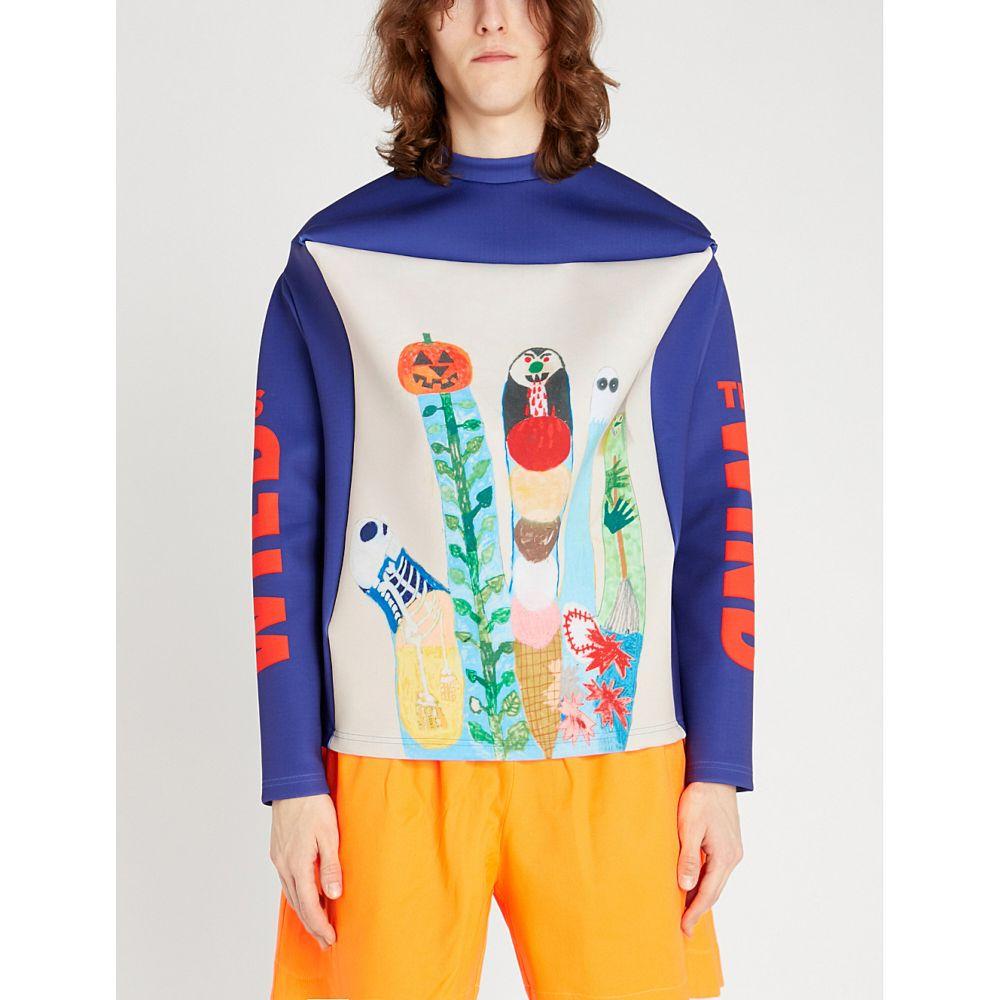 ウォルター ヴァン ベイレンドンク walter van beirendonck メンズ トップス スウェット・トレーナー【graphic-print neoprene sweatshirt】Multicolor