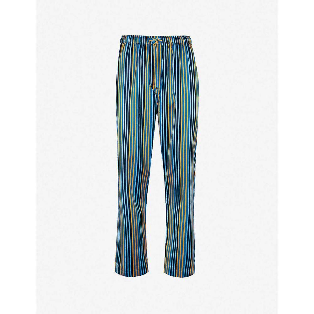 デリック ローズ DEREK ROSE メンズ インナー・下着 パジャマ・ボトムのみ【Wellington cotton pyjama bottoms】Multi