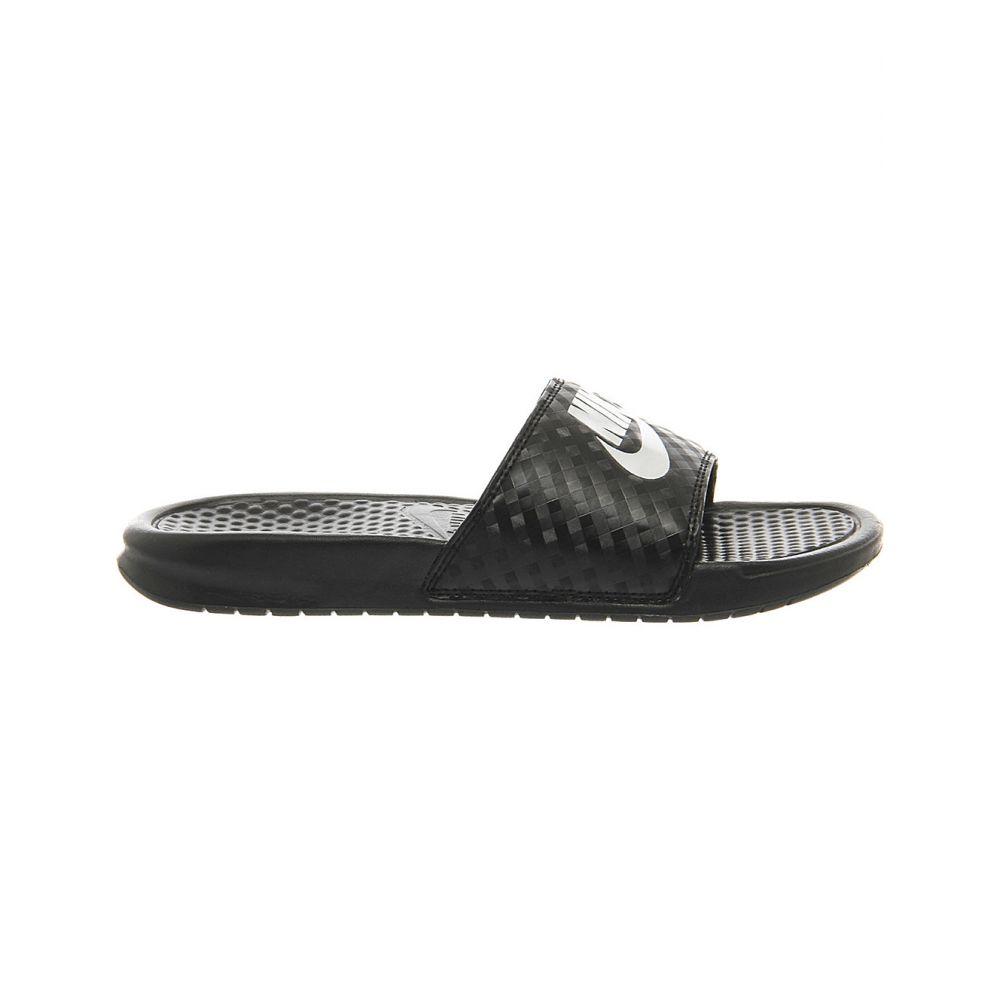 ナイキ NIKE レディース シューズ・靴 ビーチサンダル【Benassi flip-flops】Black white
