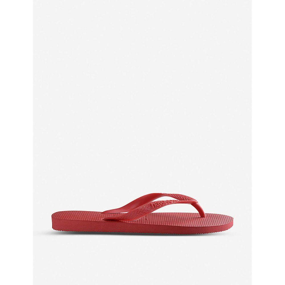 ハワイアナス HAVAIANAS レディース シューズ・靴 ビーチサンダル【Top rubber flip-flops】Ruby red