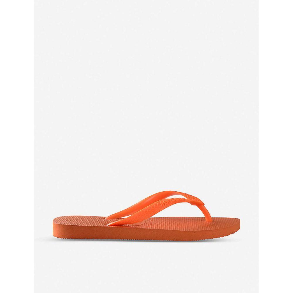 ハワイアナス HAVAIANAS レディース シューズ・靴 ビーチサンダル【Top rubber flip-flops】Neon orange