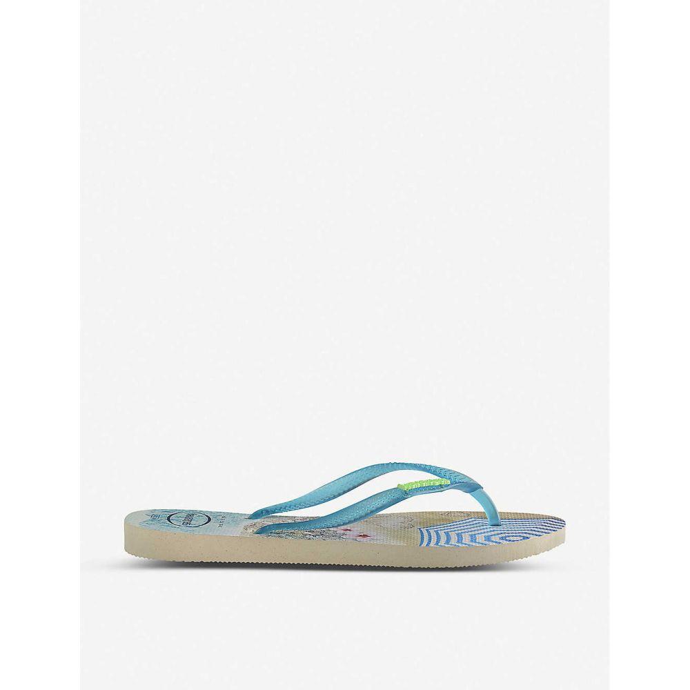 ハワイアナス HAVAIANAS レディース シューズ・靴 ビーチサンダル【Slim Paisage rubber flip-flops】Slim paisage beige/t