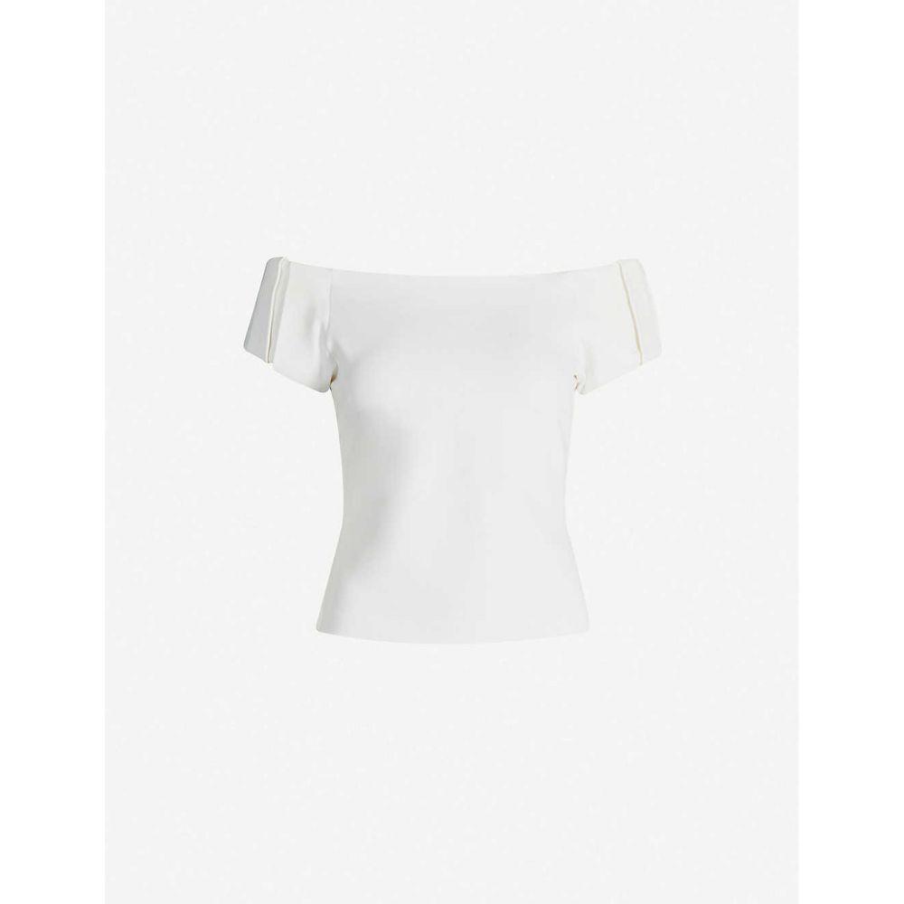 テッドベーカー TED BAKER レディース トップス オフショルダー【Dorento off-the-shoulder stretch-jersey top】Ivory