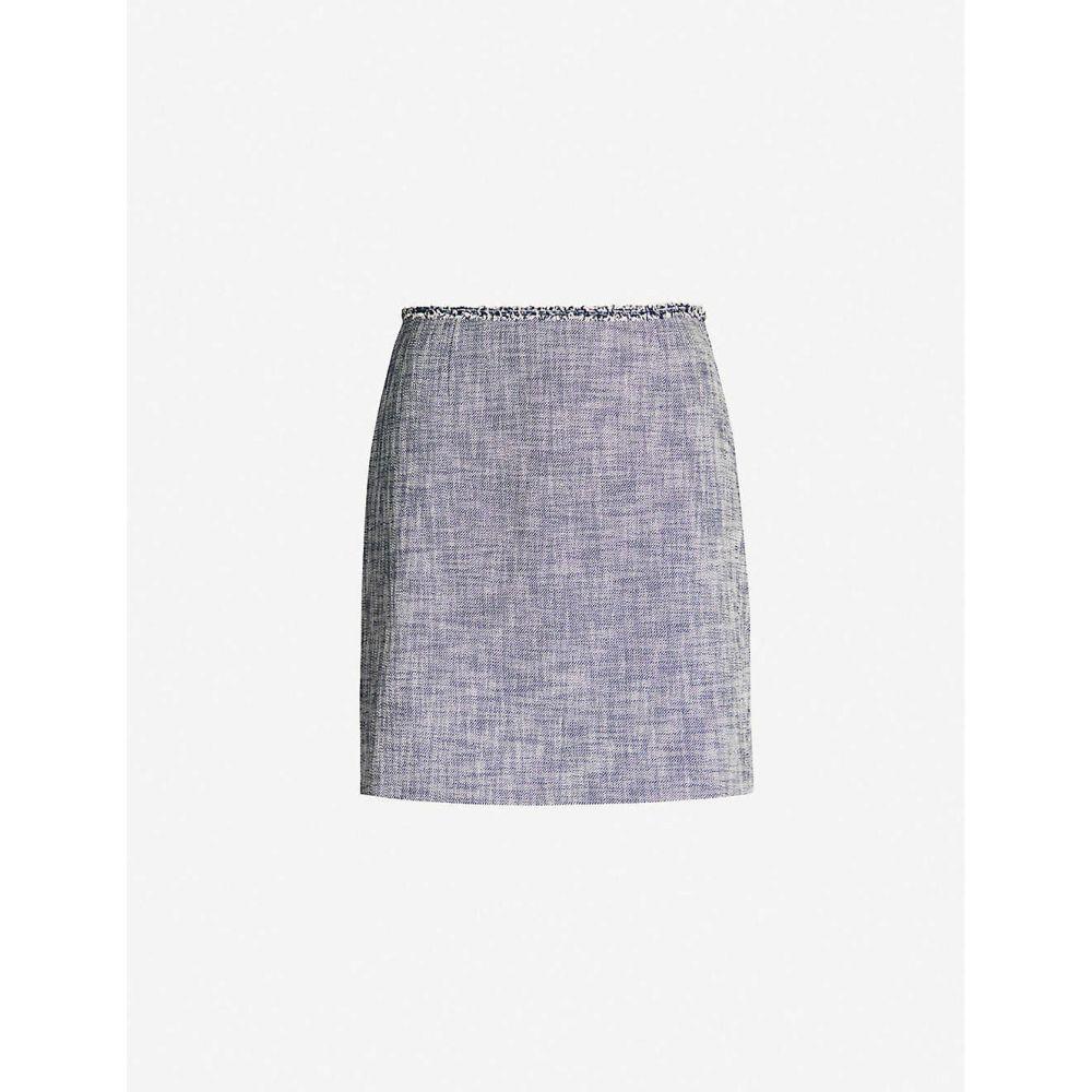 クローディ ピエルロ CLAUDIE PIERLOT レディース スカート ミニスカート【Cotton-blend mini skirt】Chambray fonce shirtin