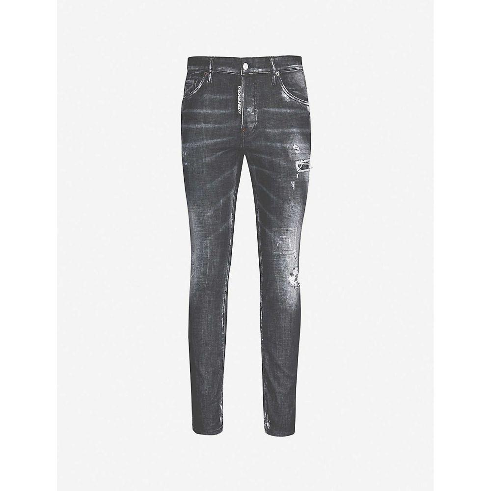 ディースクエアード DSQUARED2 メンズ ボトムス・パンツ ジーンズ・デニム【Skater skinny jeans】Black