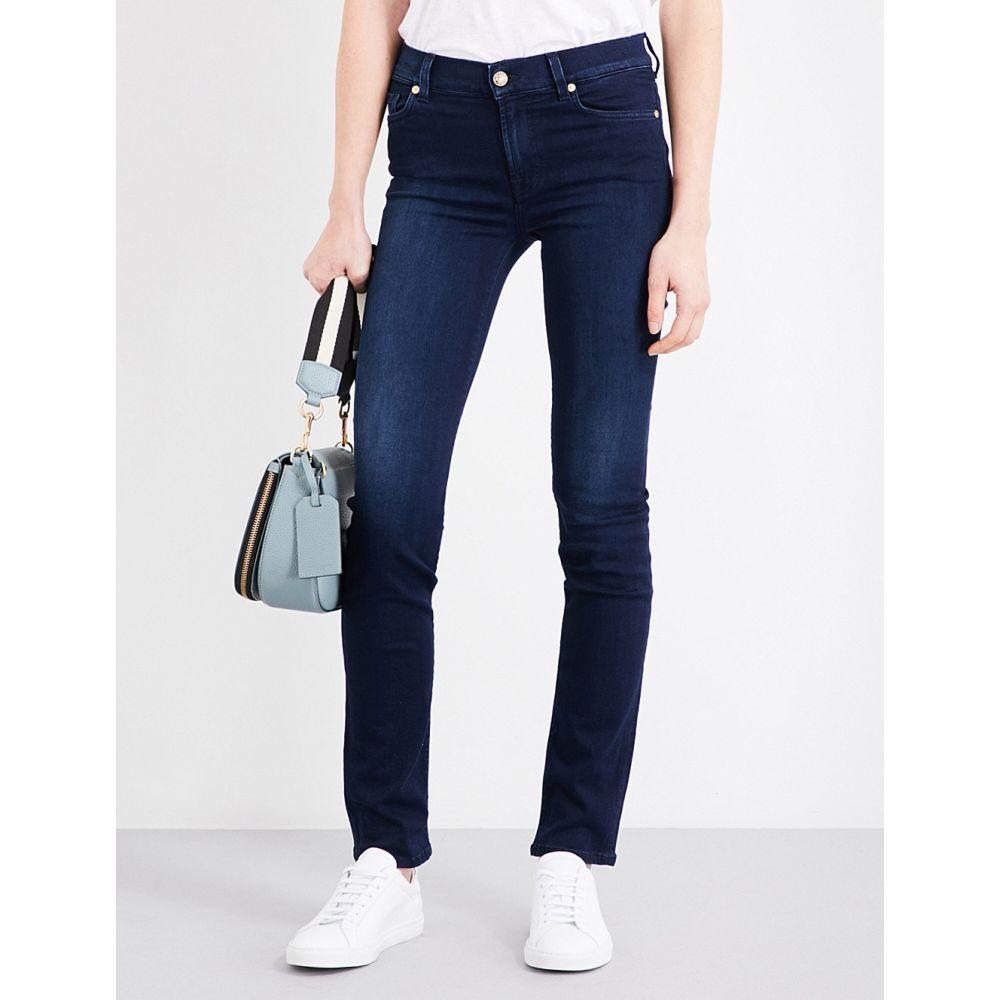 セブン フォー オール マンカインド 7 FOR ALL MANKIND レディース ボトムス・パンツ ジーンズ・デニム【Rozie slim high-rise jeans】Slim illusion luxe