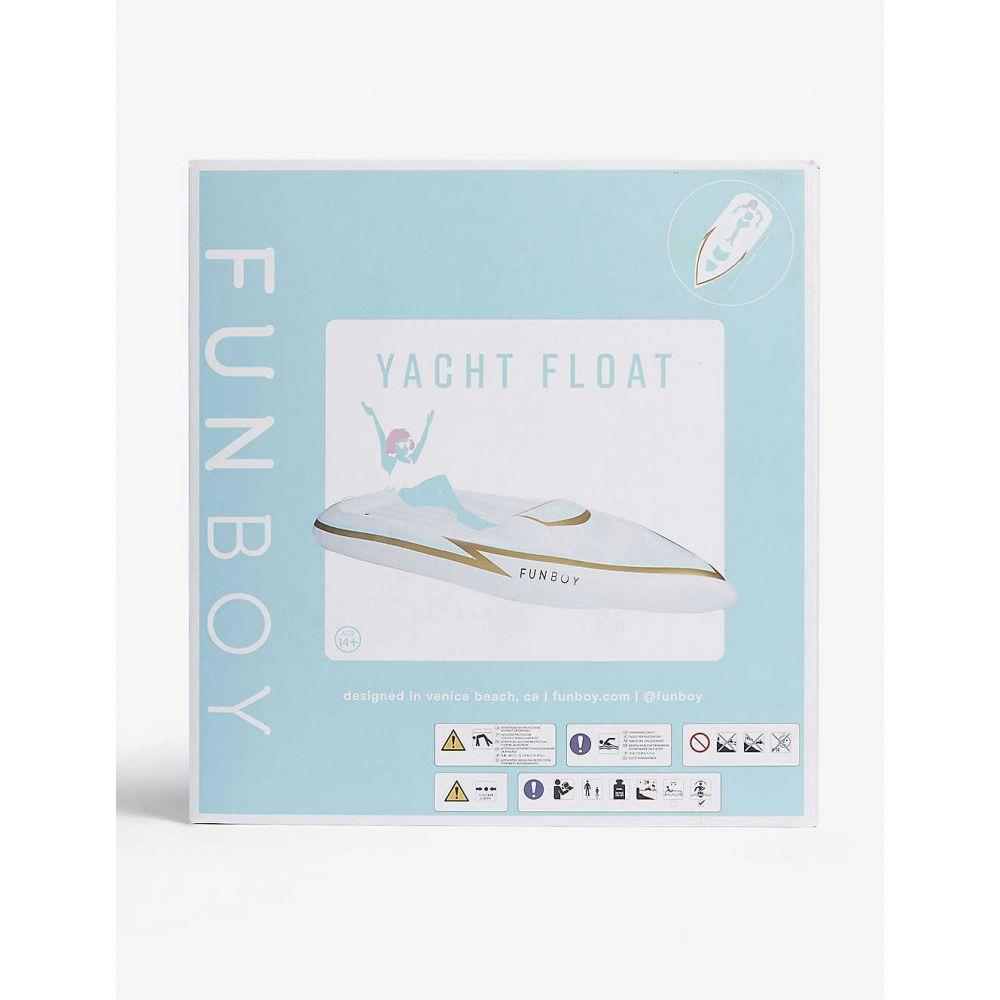 ファンボーイ FUNBOY レディース 雑貨【Yacht pool float】White