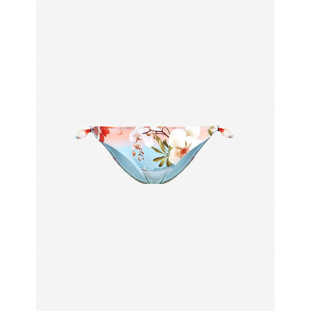 テッドベーカー TED BAKER レディース 水着・ビーチウェア ボトムのみ【Sydneey floral-print bikini bottoms】Pl-pink