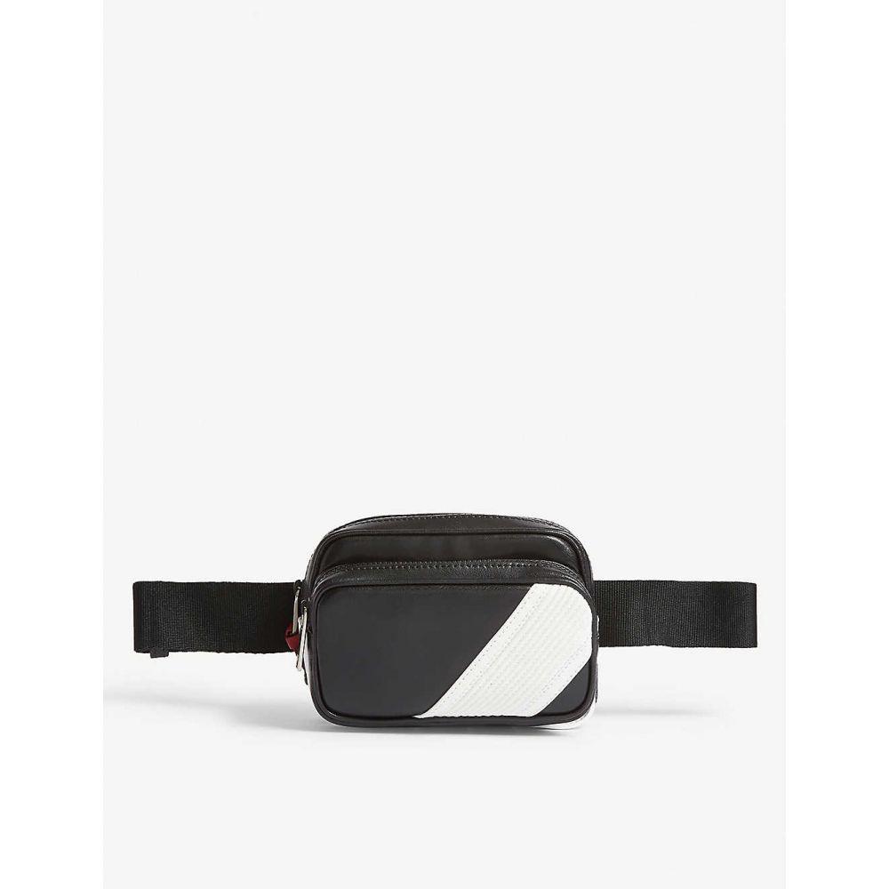 ジバンシー GIVENCHY メンズ バッグ ボディバッグ・ウエストポーチ【Leather belt bag】Black