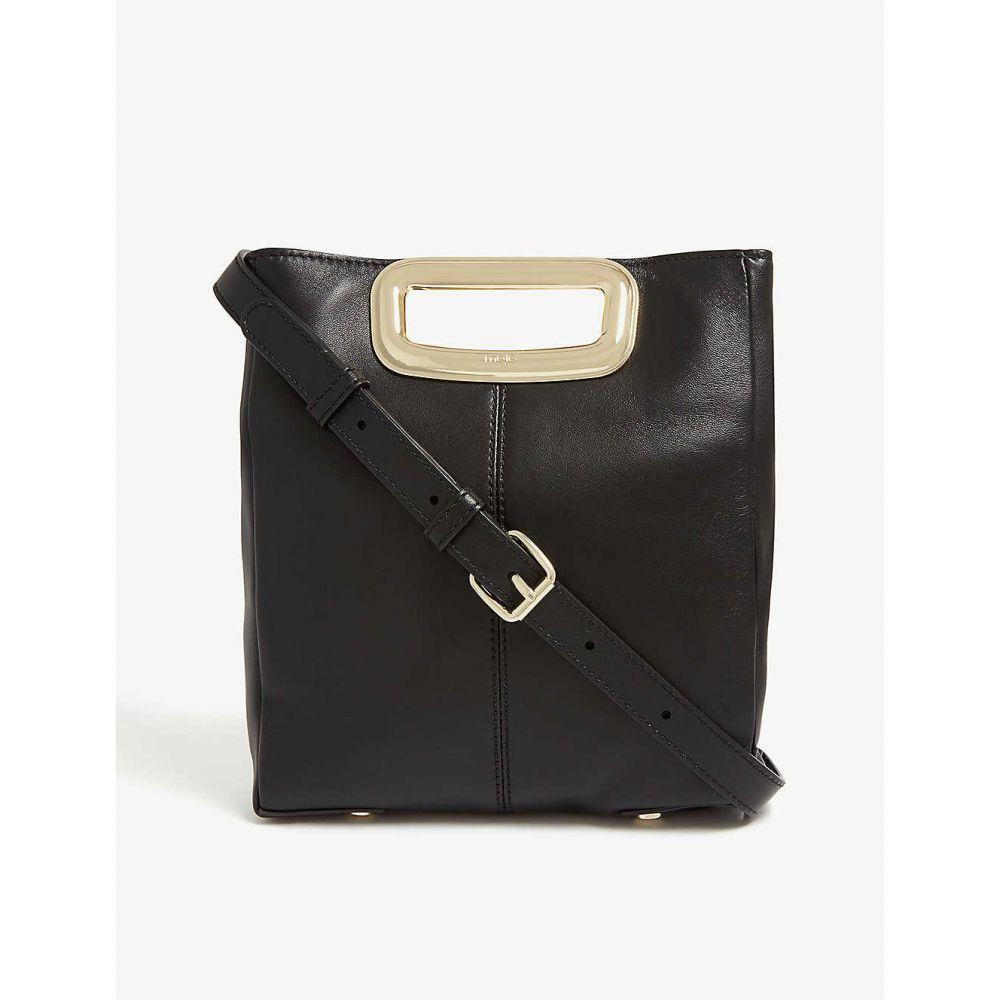 マージュ MAJE レディース バッグ ショルダーバッグ【M leather shoulder bag】Black