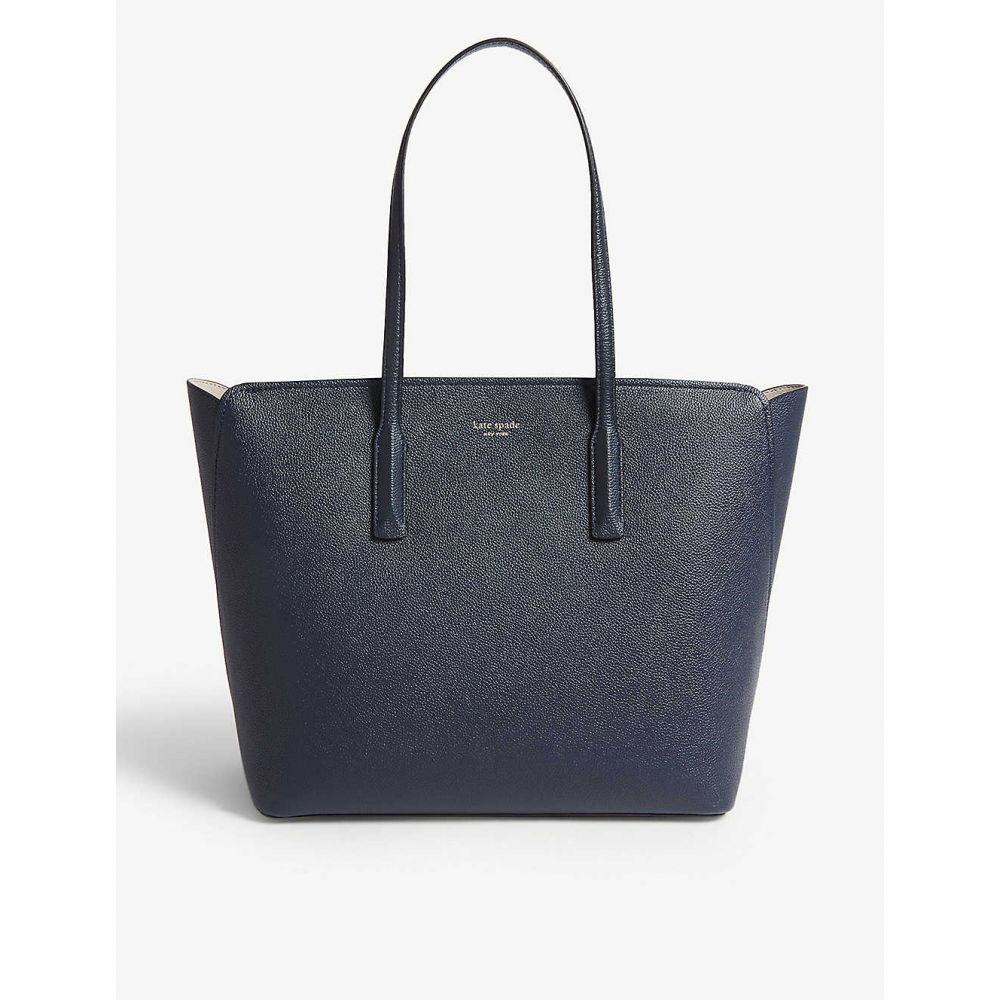 ケイト スペード KATE SPADE NEW YORK レディース バッグ トートバッグ【Margaux grained leather tote bag】Blazer blue