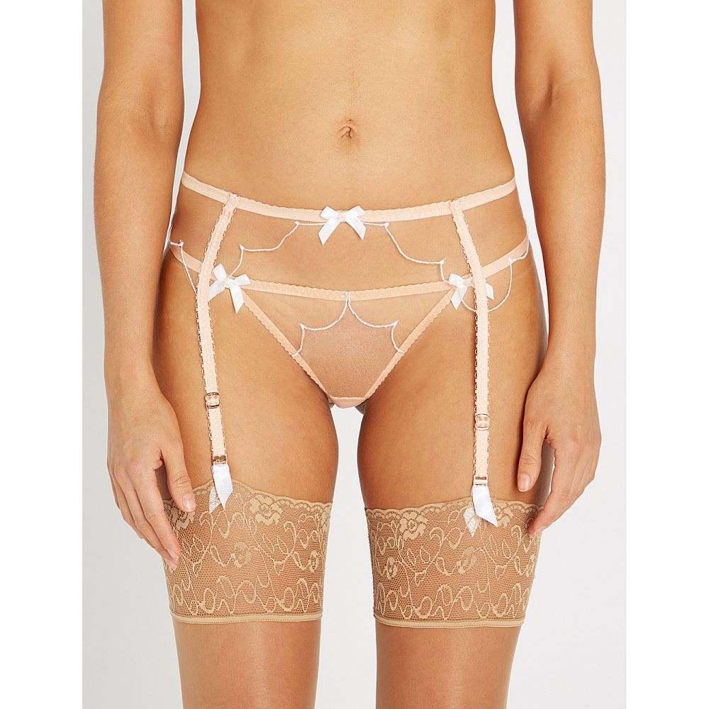 エージェントプロヴォケイター AGENT PROVOCATEUR レディース インナー・下着 ガーターベルト【Lorna mesh suspender belt】Nude white