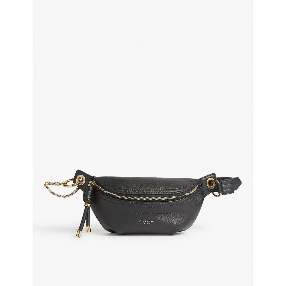 ジバンシー GIVENCHY レディース バッグ ボディバッグ・ウエストポーチ【Whip mini leather belt bag】Black