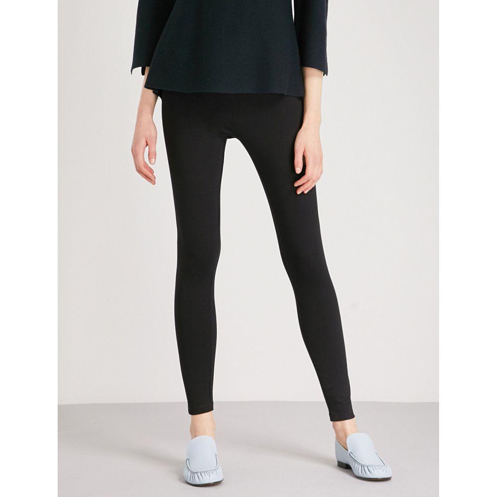 ザ ホワイト カンパニー THE WHITE COMPANY レディース インナー・下着 スパッツ・レギンス【Luxury stretch-jersey leggings】Black