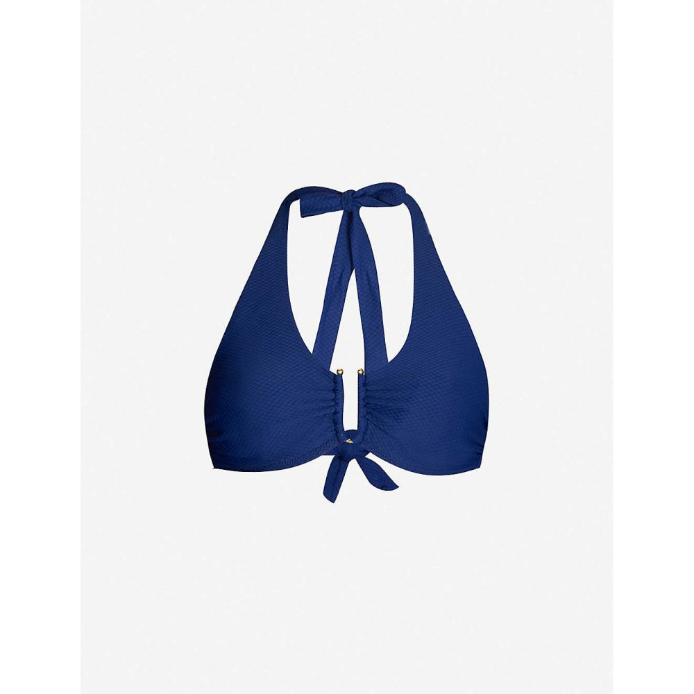 ハイジ クライン HEIDI KLEIN レディース 水着・ビーチウェア トップのみ【D-G -bar bikini top】Navy