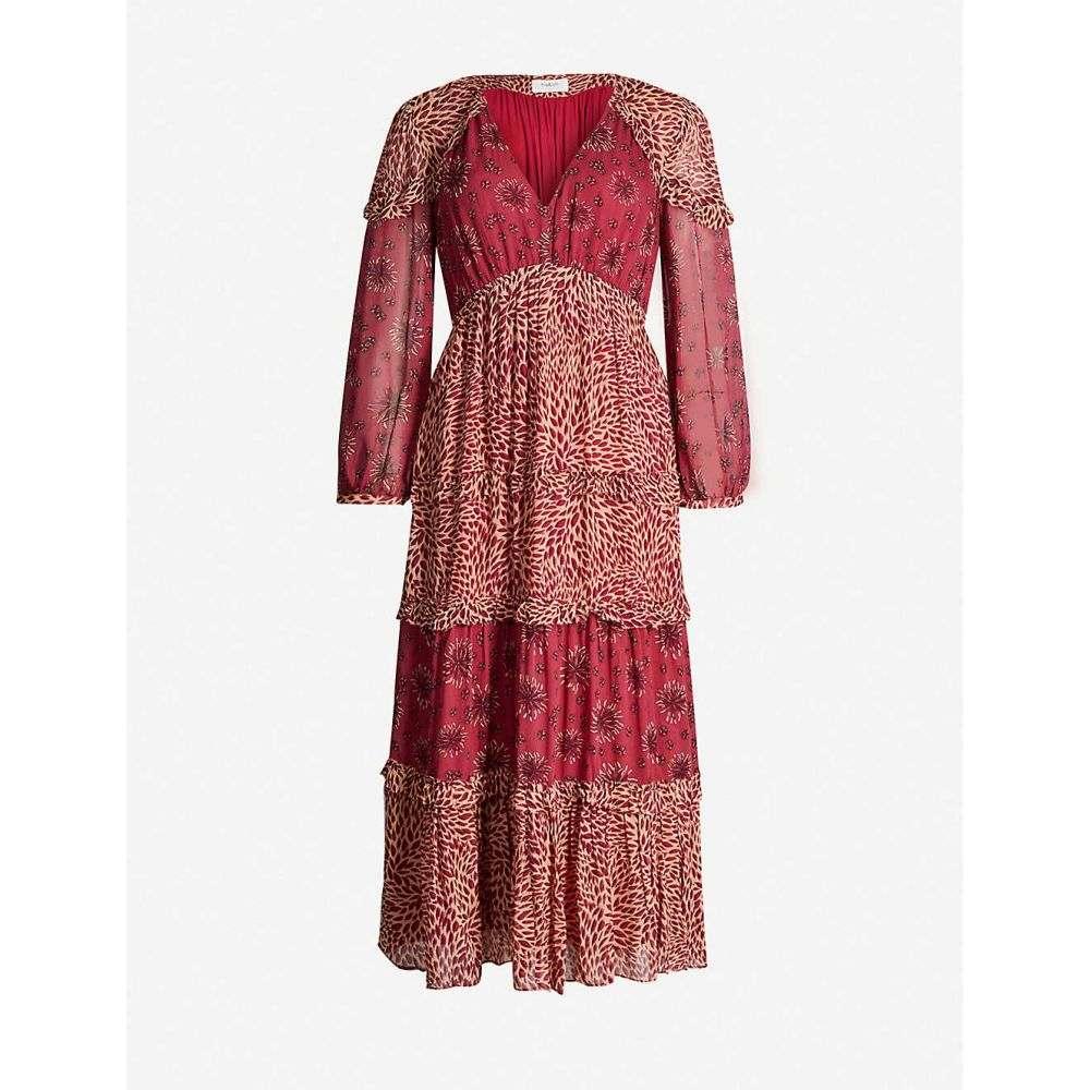 バッシュ BA&SH レディース ワンピース・ドレス ワンピース【Gypsie chiffon midi dress】Rose