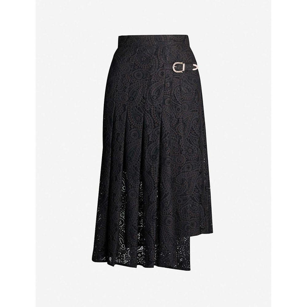 マージュ midi MAJE レディース レディース スカート skirt】Black ひざ丈スカート【Jalilo paisley lace midi skirt】Black, RoiCiel:3db51427 --- officewill.xsrv.jp