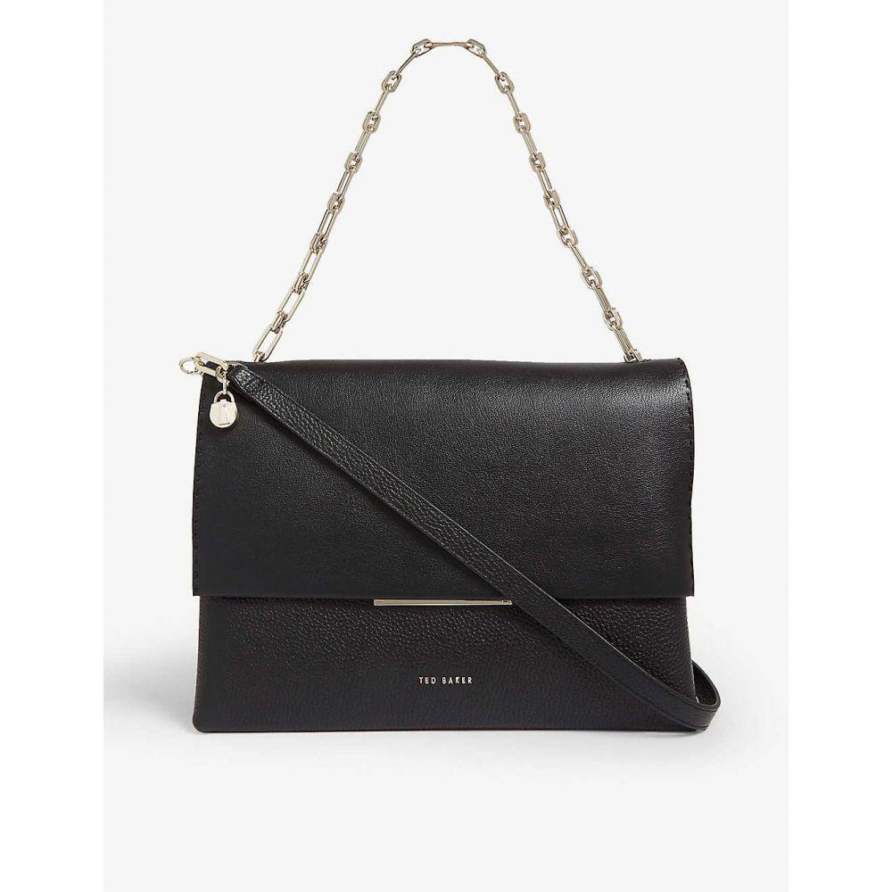 テッドベーカー TED BAKER レディース バッグ ショルダーバッグ【Diaana leather shoulder bag】Black
