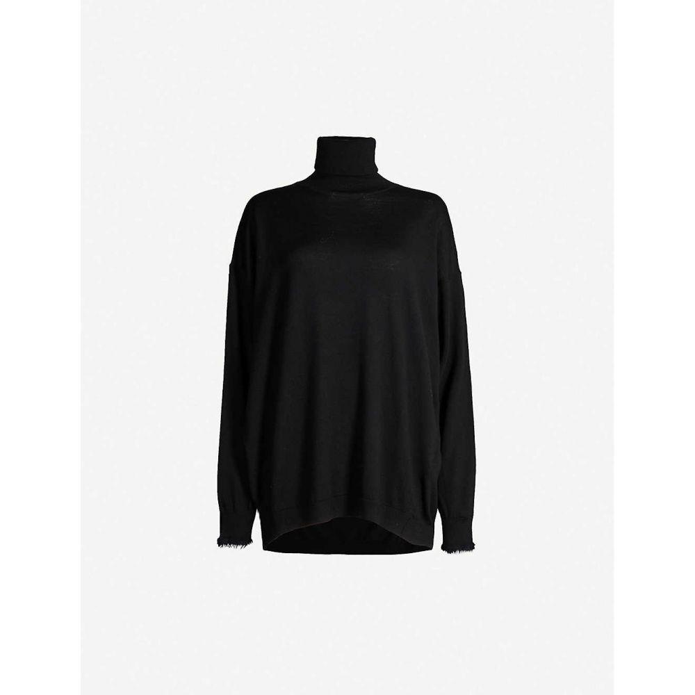 アクネ ストゥディオズ ACNE STUDIOS レディース トップス ニット・セーター【Kelodie roll-neck wool jumper】Black