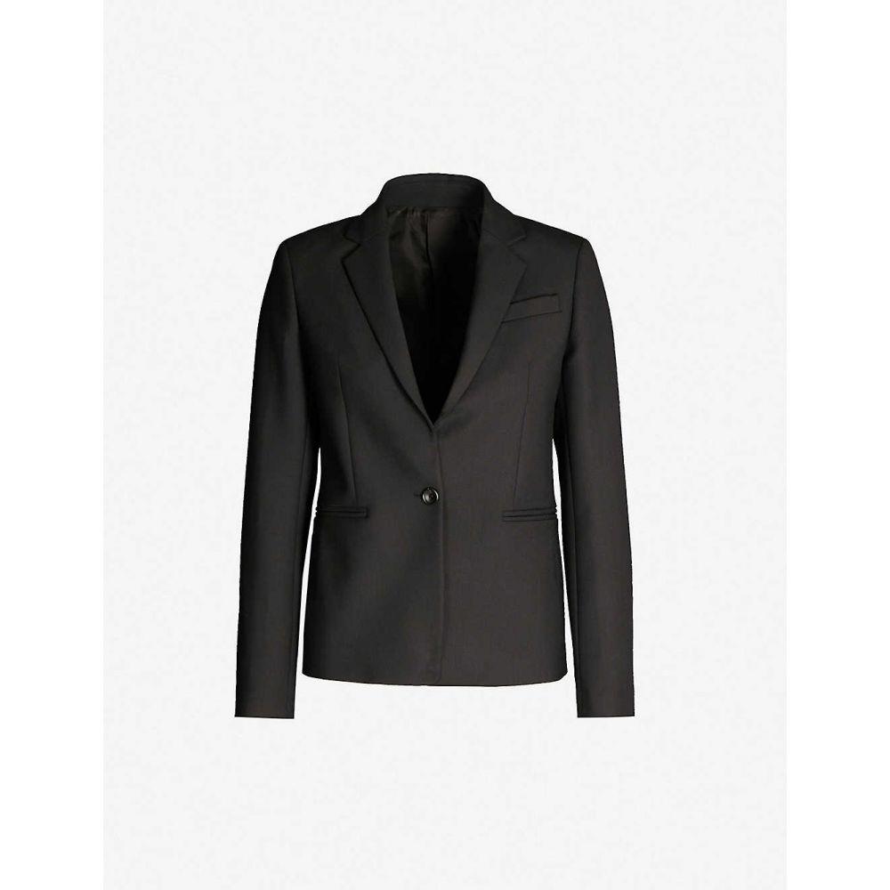 ジョゼフ JOSEPH レディース アウター スーツ・ジャケット【William wool woven jacket】Black