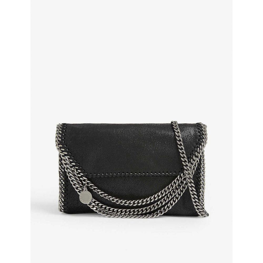 ステラ マッカートニー STELLA MCCARTNEY レディース バッグ ショルダーバッグ【Falabella vegan-leather cross-body bag】Black silver