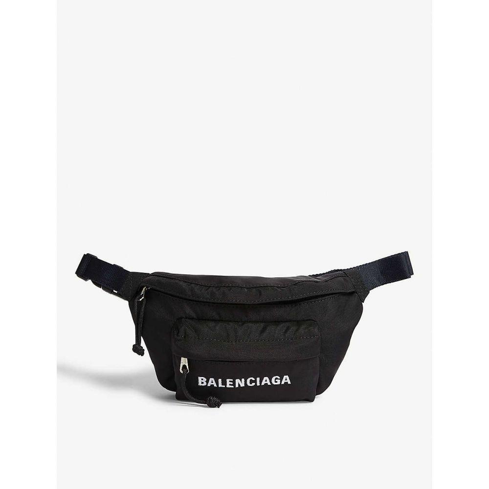 バレンシアガ BALENCIAGA レディース バッグ ボディバッグ・ウエストポーチ【Wheel belt bag】Black/navy blue