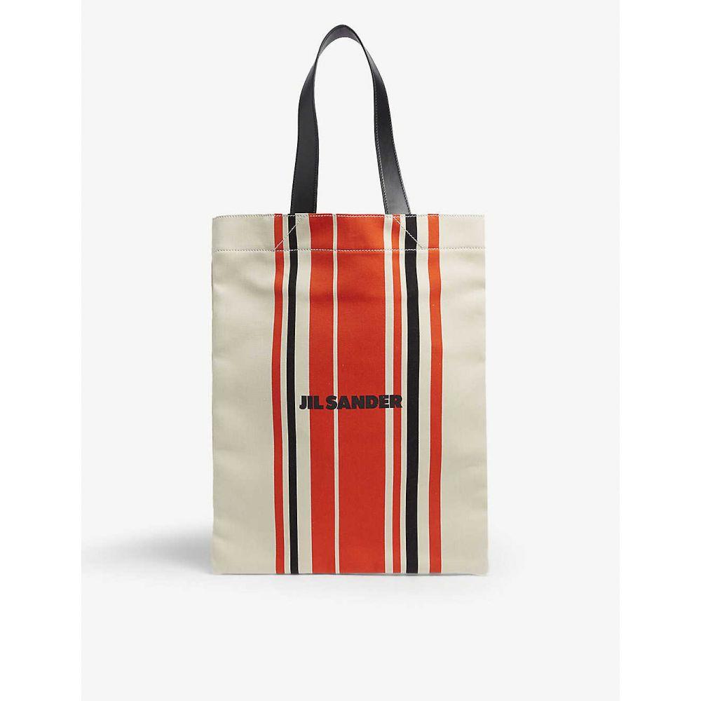 ジル サンダー レディース バッグ トートバッグ 【サイズ交換無料】 ジル サンダー JIL SANDER レディース バッグ トートバッグ【Canvas tote bag】Open red