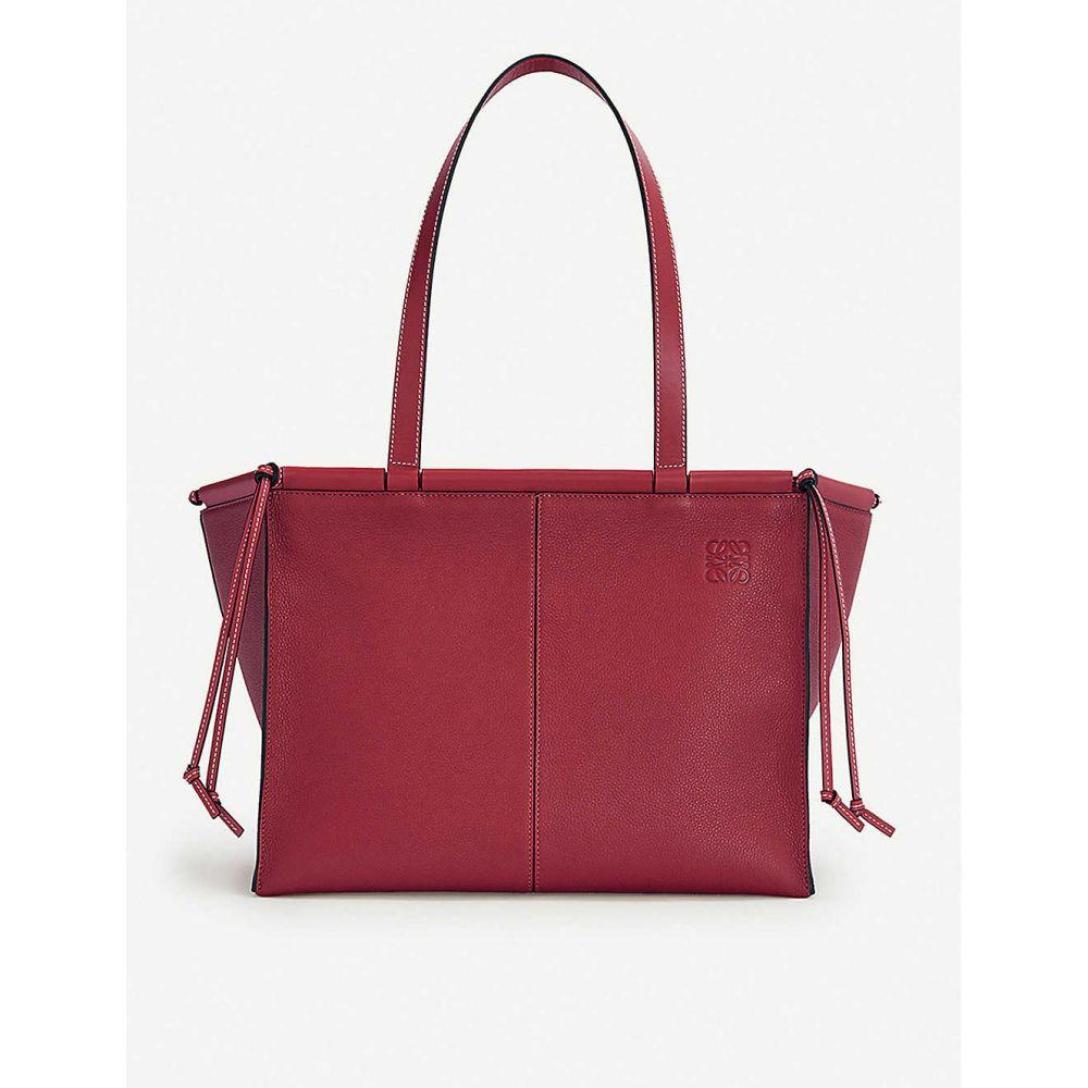 ロエベ LOEWE レディース バッグ トートバッグ【Cushion leather tote bag】Raspberry
