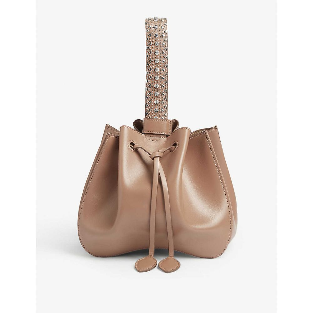 アズディンアライア AZZEDINE ALAIA レディース バッグ【Rosemarie leather bucket bag】Sahara